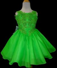 lime green flower girl dresses 2016-2017 | B2B Fashion