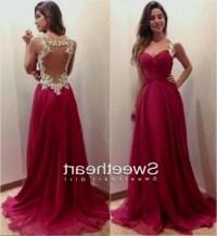 long red prom dresses tumblr 2016-2017 | B2B Fashion