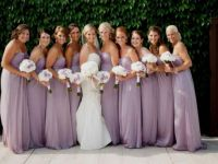 Mauve Bridesmaid Dresses | All Dress