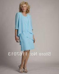 Mother Of The Bride Dresses Knee Length Plus Size - Junoir ...