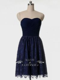 Navy Blue Lace Bridesmaid Dresses | www.imgkid.com - The ...