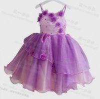 purple flower girl dresses for toddlers 2016