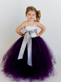 purple tutu flower girl dresses 2016-2017 | B2B Fashion