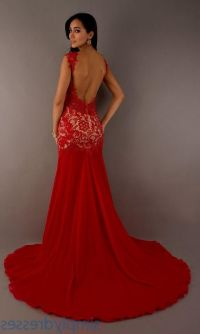 red prom dresses open back 2016-2017 | B2B Fashion