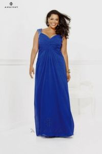 royal blue bridesmaid dresses plus size 2016