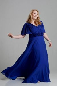 royal blue wedding dresses plus size 2016