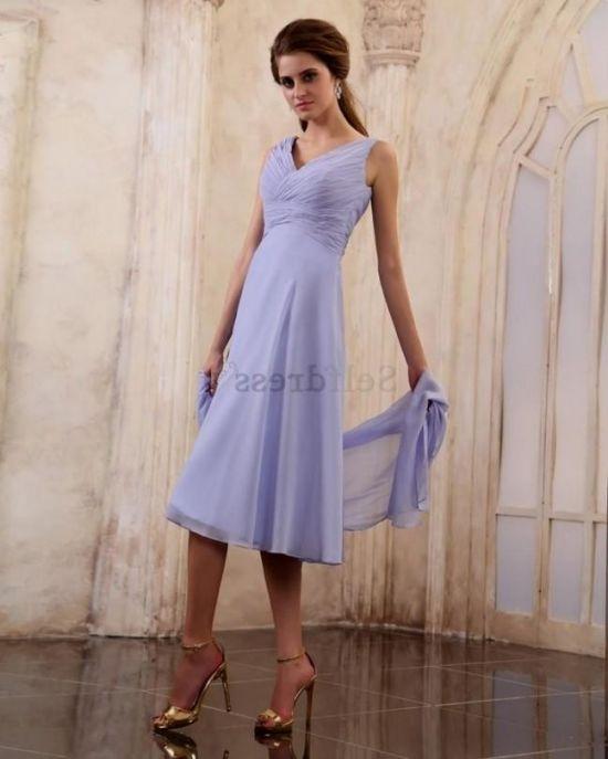 Summer mother of the bride dresses tea length 2017