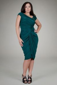 teal wedding dresses plus size 2016