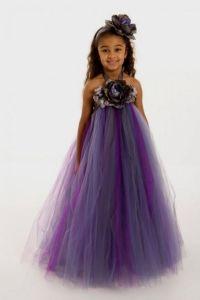 Toddler Flower Girl Dresses Purple