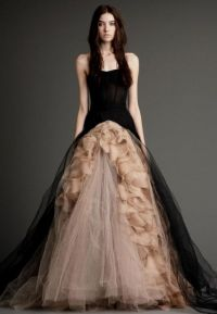 vera wang black wedding dress 2016-2017 | B2B Fashion