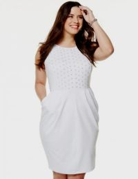 white cocktail dresses for plus size women 2016-2017 | B2B ...