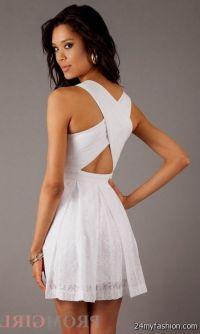white short fitted dresses 2016-2017 | B2B Fashion