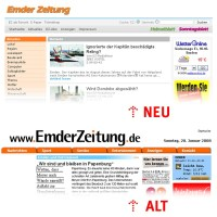 Redesign: Emder Zeitung