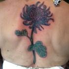 Mum Flower Tattoo