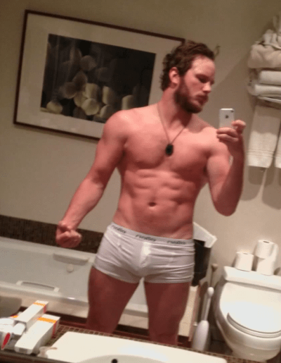 Chris Pratt is the sexy subject of a gay who would you rather poll.