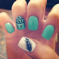 Blue Nail Designs Tumblr | Lifestyles Ideas