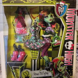 I heart fashion love Venus McFlytrap Monster High Mc Flytrap 2014