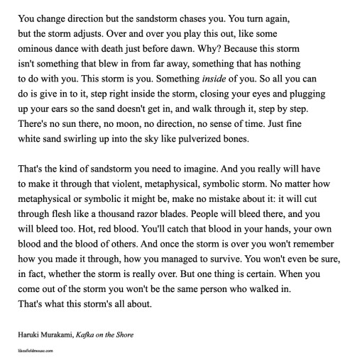 Haruki Murakami - Kafka on the Shore Where I meant to be lost - star resume format