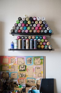 art graffiti room bedroom design Wall Interior Design ...