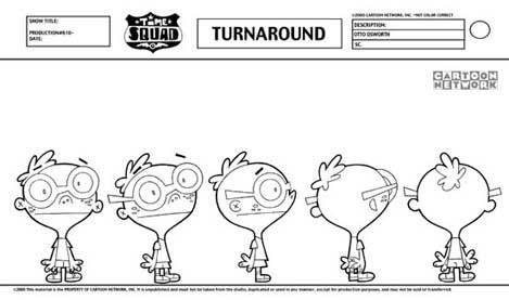Time Squad turnaround sheet Animation \ Puppetry Pinterest - flight plan template