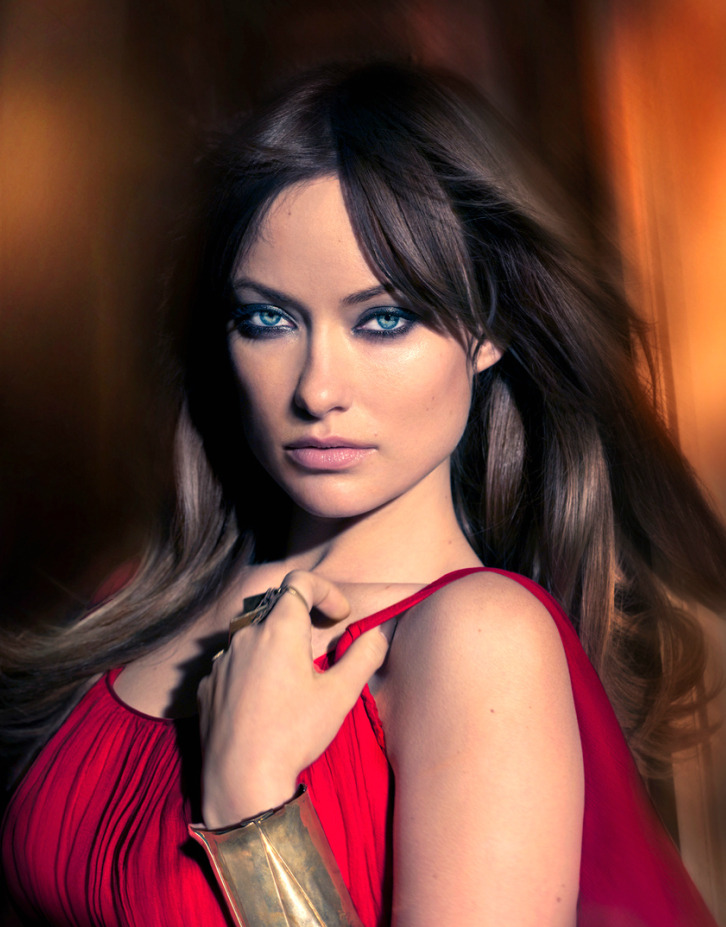 Olivia Wilde by Markus Klinko and Indrani