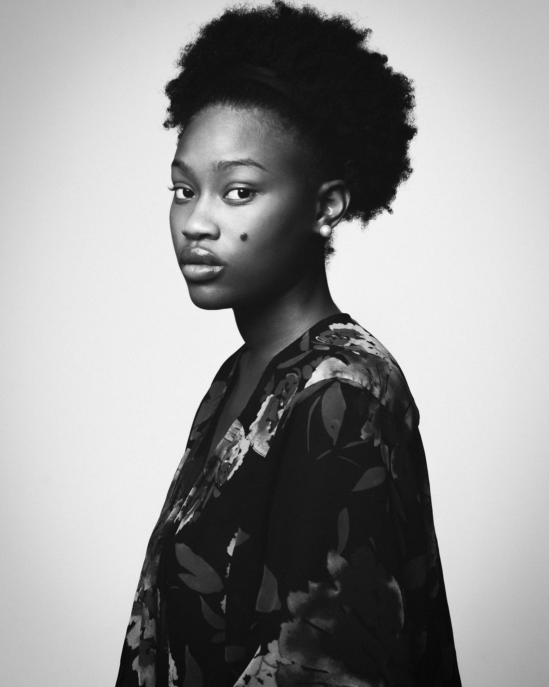 Coiffure D'afro Photography Black Girls African Africa White And Black