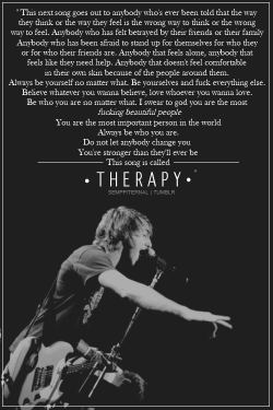Jack Barakat Quotes Wallpaper Lyrics All Time Low Therapy Thiingone