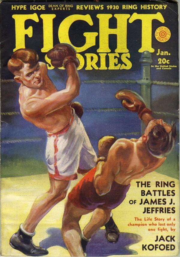 Fight Stories 1930 James J Jeffries Boxing Pinterest - baseball score sheet
