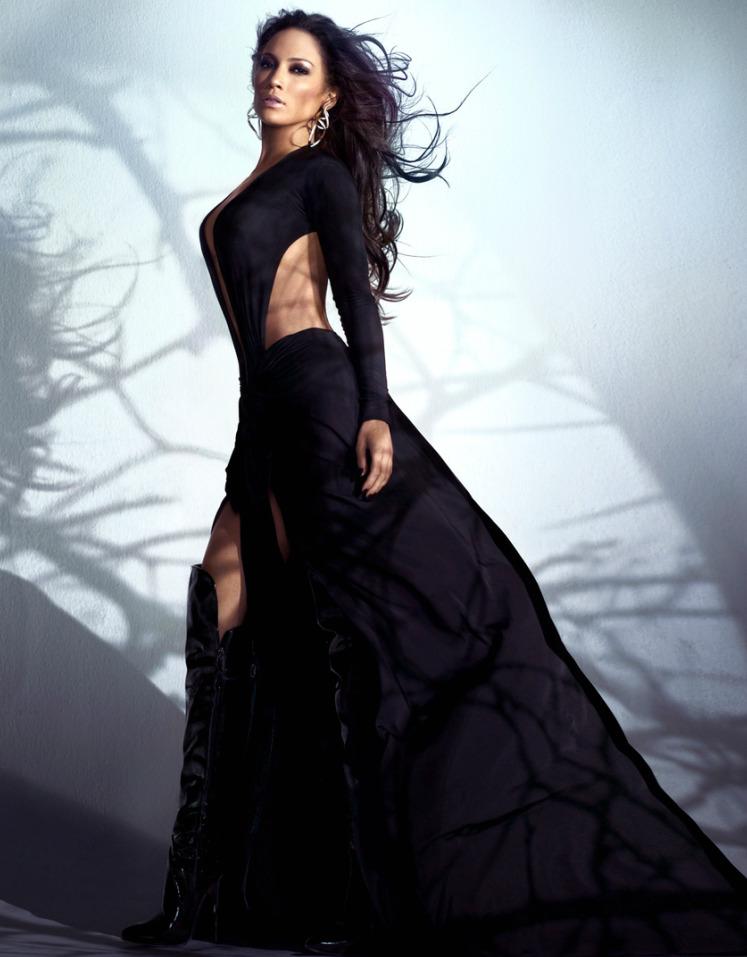Jennifer Lopez by Markus Klinko and Indrani