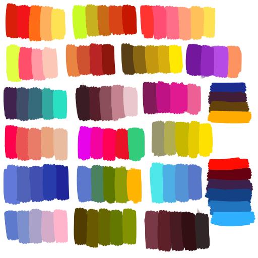 My Art Colors Reference Color Palette Color Palettes Stlop •
