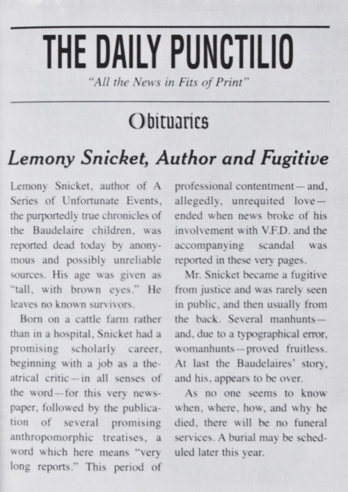A Series of Unfortunate Events by Lemony Snicket 26 Of The - claim template letter