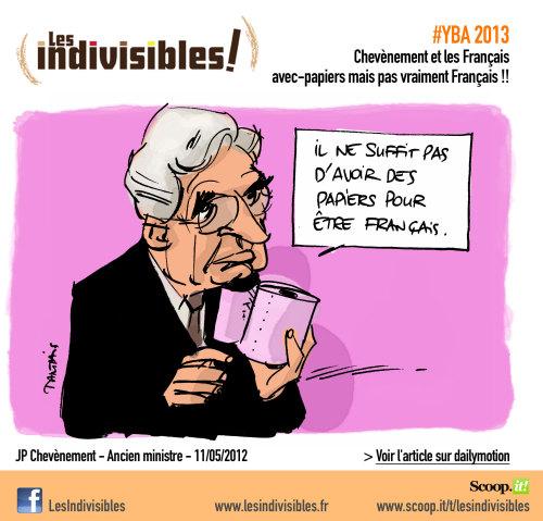 Jean Pierre Chevènement et les français