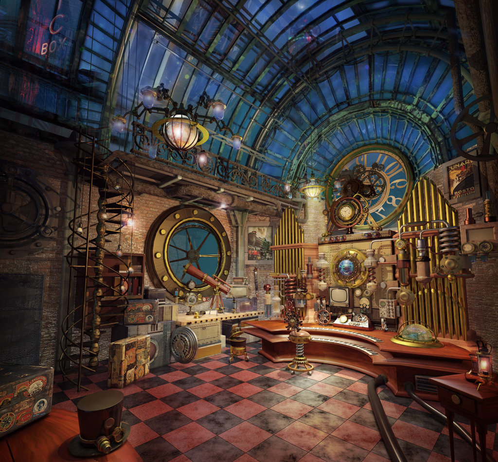 Steampunk Decor Yoworld Forums View Topic Ideas For Steampunk Airship
