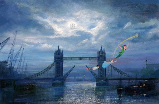 Tinkerbell Wallpaper For Iphone 6 Art Disney Landscape Photo Set Paintings Englishsnow