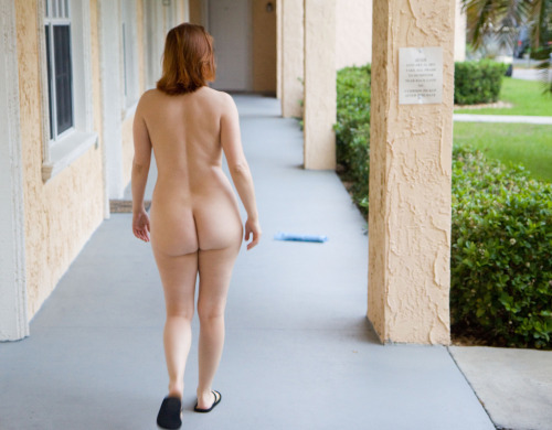 running woman nude from behind