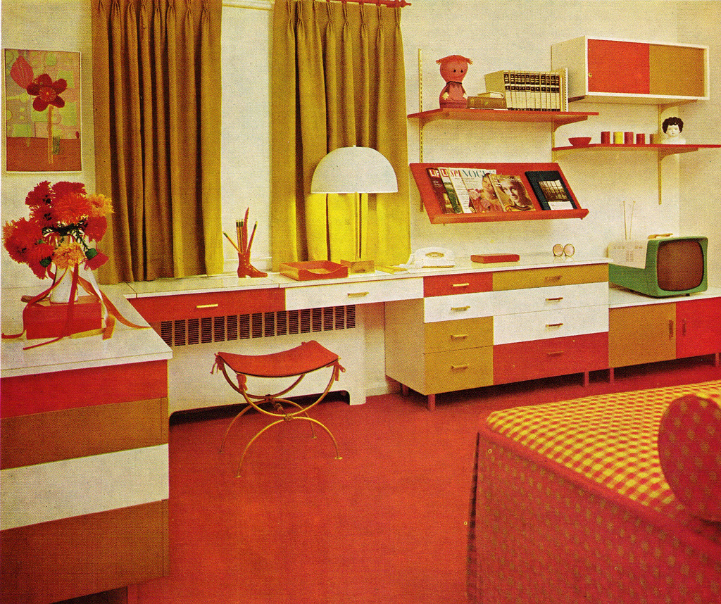 Retro Home Design Post War Vintage From The 40s 50s 60s And 70s 1970s