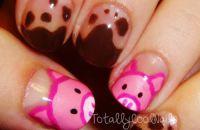 Totally Cool Nails - Pig Nails
