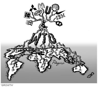 WTO tree of corporations - Regulate Multinational Corporations