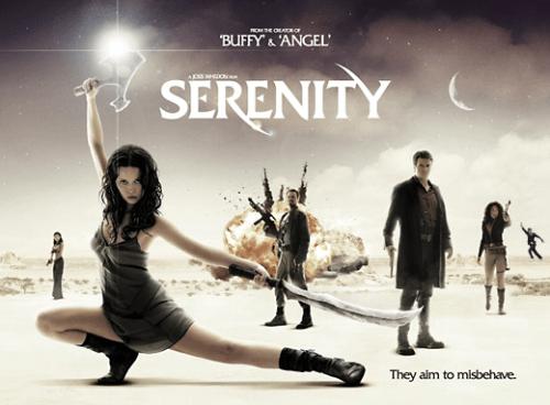 David Tennant in Serenity poster