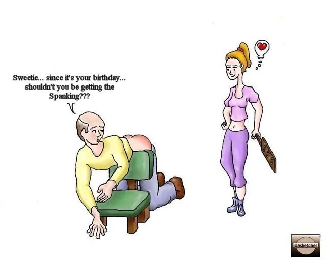 julian guile spanking drawings
