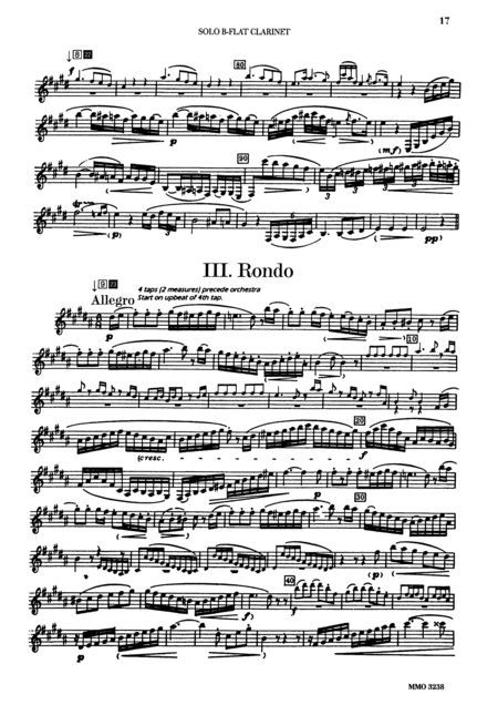 Mozart Clarinet Concerto Music Pinterest Clarinets and Musicians - ivory resume paper