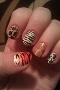 giraffe nails on Tumblr