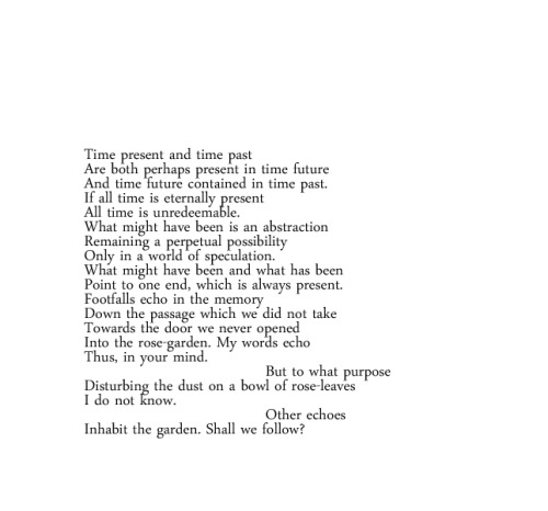 from The Hollow Men by TS Eliot One of my favorite poems - resume after college