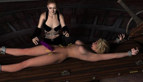 tickle torture asshole