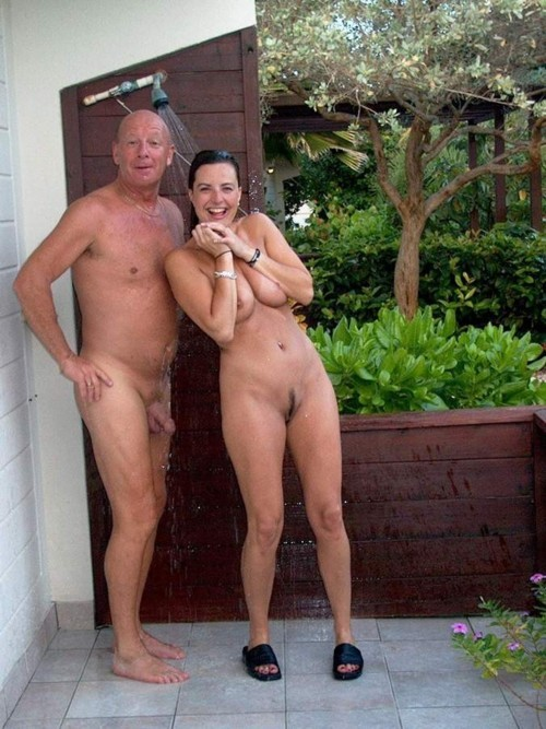 family dressed undressed