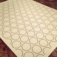 THE MADE SHOP - Layout template for a floor made of pennies