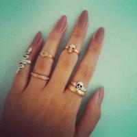 Long Tumblr Nails | Nail Designs