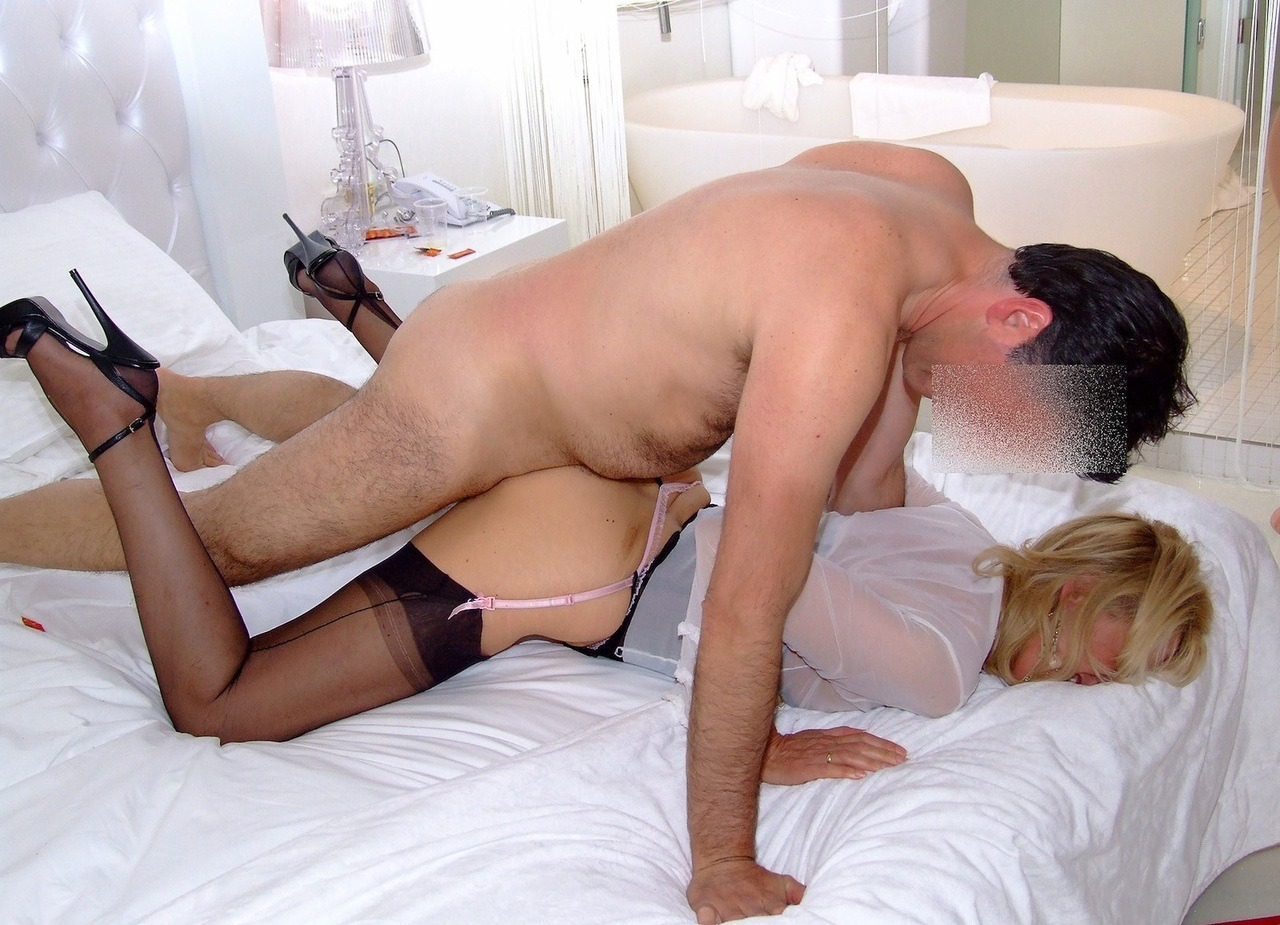 horny wife in stockings