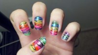 Nail Art Zebra Stripes | Nail Art Designs