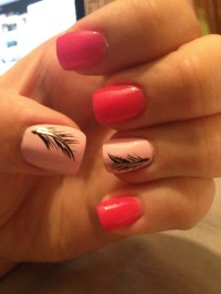 feather nails on Tumblr